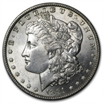 1891-O Morgan Dollar - Brilliant Uncirculated